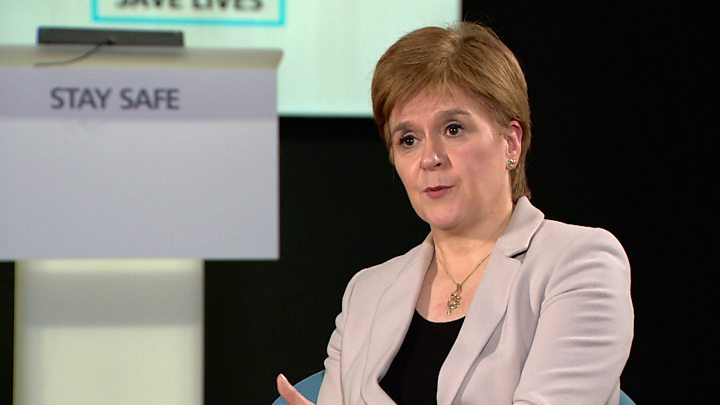 Sturgeon admits Scotland got it wrong over exam grades