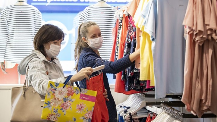 Coronavirus Face Coverings Now Compulsory For Ni Shoppers Bbc News