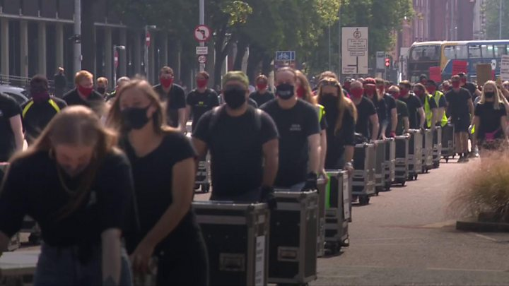 Venues and crew signal 'red alert' for live music, theatre and events