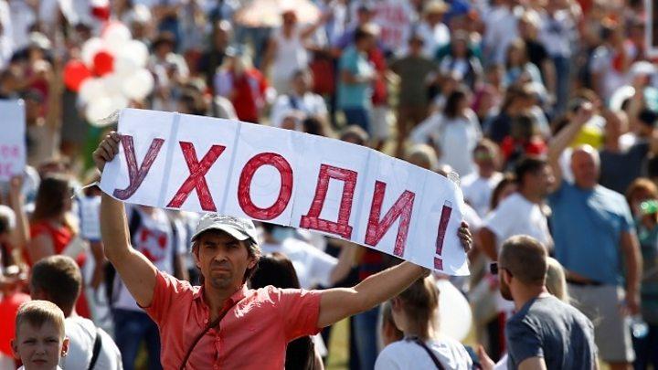 Bielorrússia protesta: 'Não há caminho de volta.  O povo não vai perdoar isso ' 1