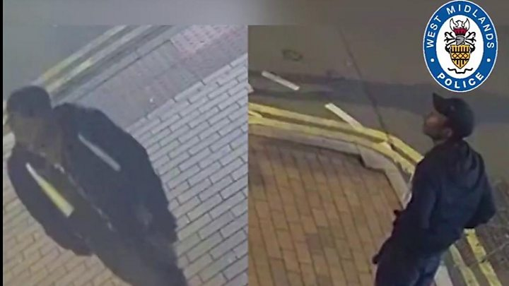 Birmingham stabbings: 'Strong response' to manhunt CCTV thumbnail