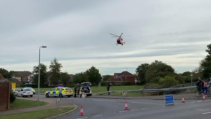 Kesgrave student 'critical' after shooting on way to school thumbnail