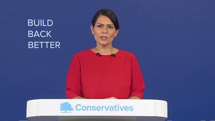 Priti Patel pledges to fix 'broken' asylum system in UK thumbnail