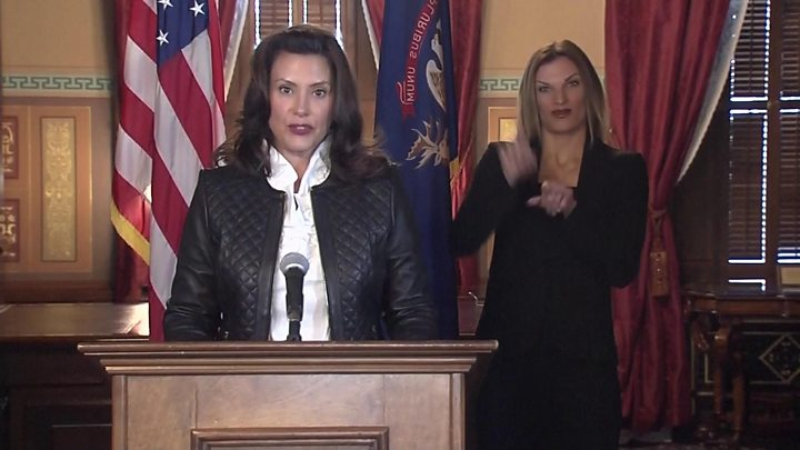 Michigan Gov Gretchen Whitmer was 'moved around' as FBI tracked militia 'plot'