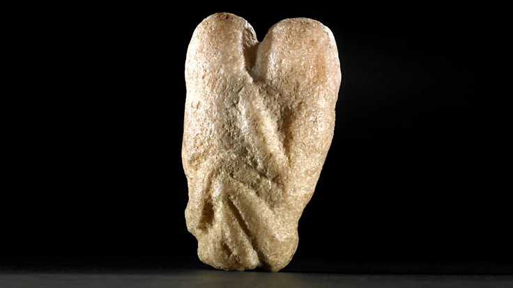 After the Ice Age: Food and Sex (9000 - 3500 BC), Ain Sakri Lovers Figurine
