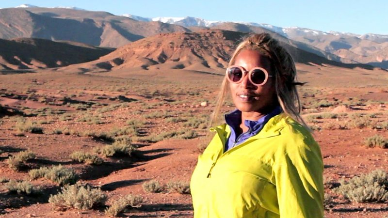 """I am Morocco's first female mountain guide"""