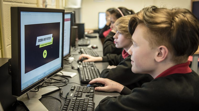 Teachers guide to the BBC iReporter interactive game