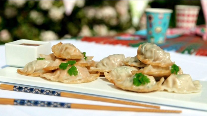 Gyoza Japanese Dumplings Recipe Bbc Food