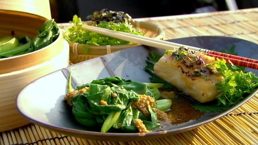 Miso-baked black cod