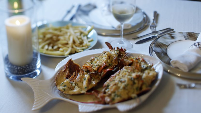 James Martin's lobster thermidor