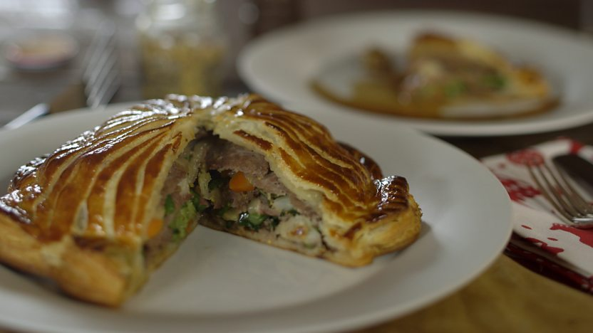 Beef pithivier