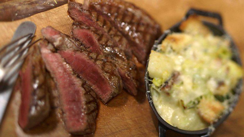 The perfect rump steak