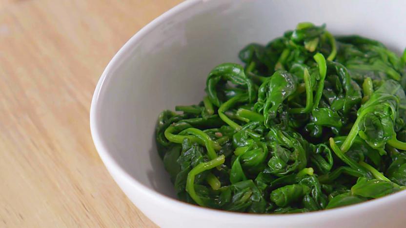 Vegan spinach filo pie