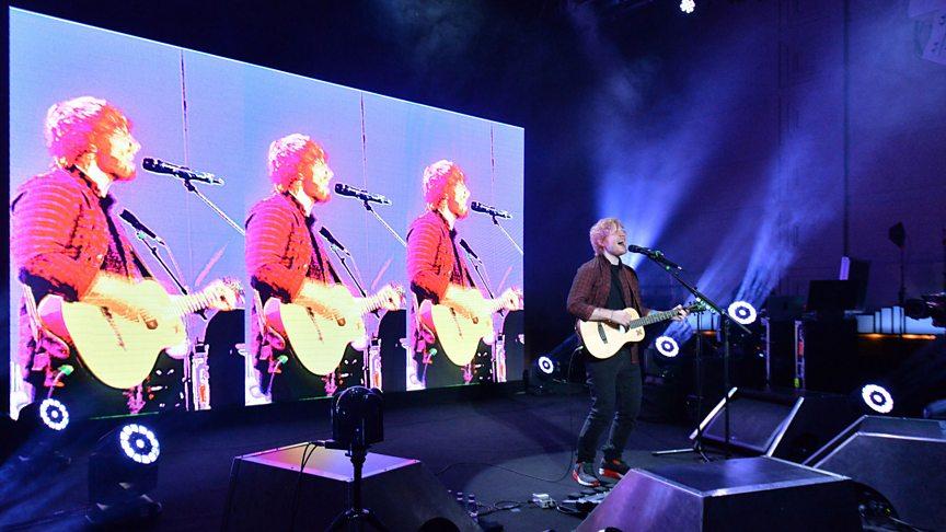 Bbc radio 2 in concert ed sheeran event radio 2 - Ed sheeran give me love live room ...