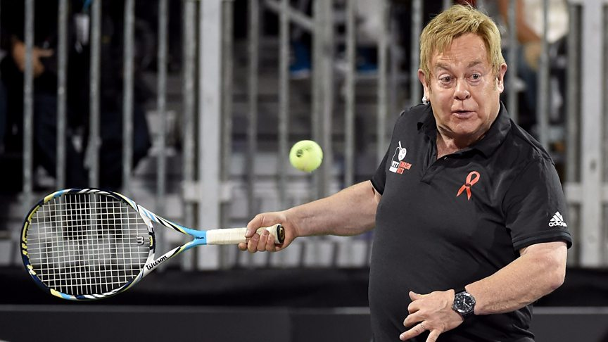 Racquet Man! 12 pop stars you wouldn't expect to play tennis