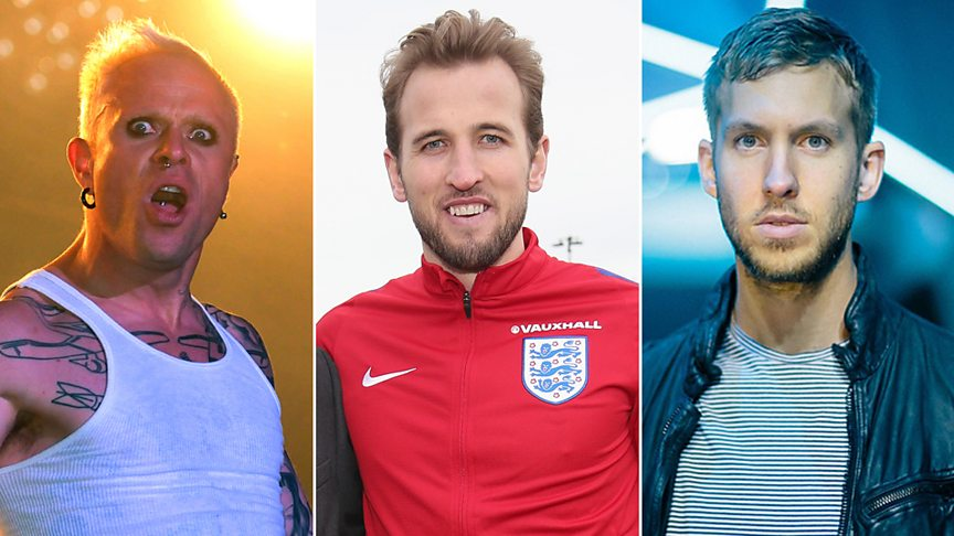 Revealed! The England squad's taste in music