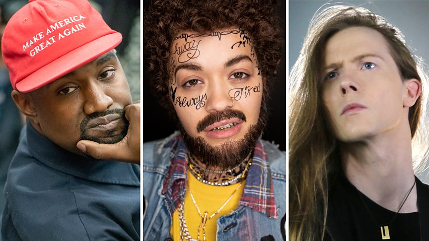 Kanye West, Post Malone, Jered Threatin