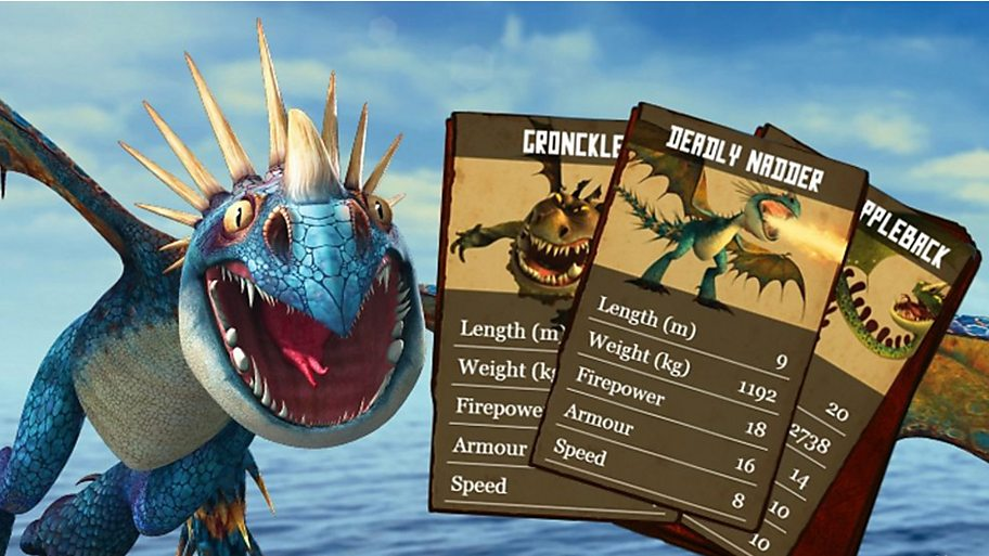 Test your knowledge of the book of dragons in this epic card battler game.