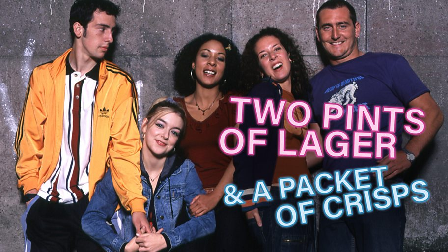 Two Pints of Lager and a Packet of Crisps cast