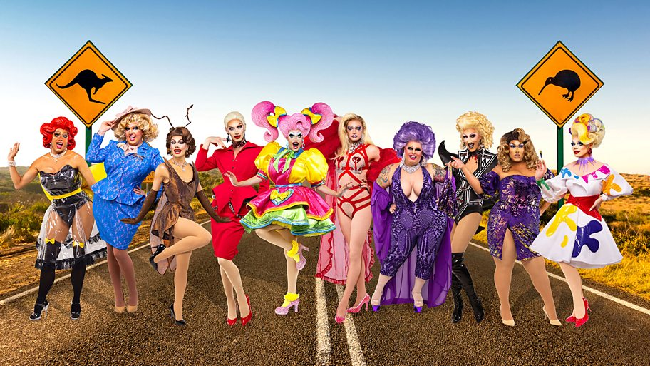 Queens from RuPaul's Drag Race Down Under