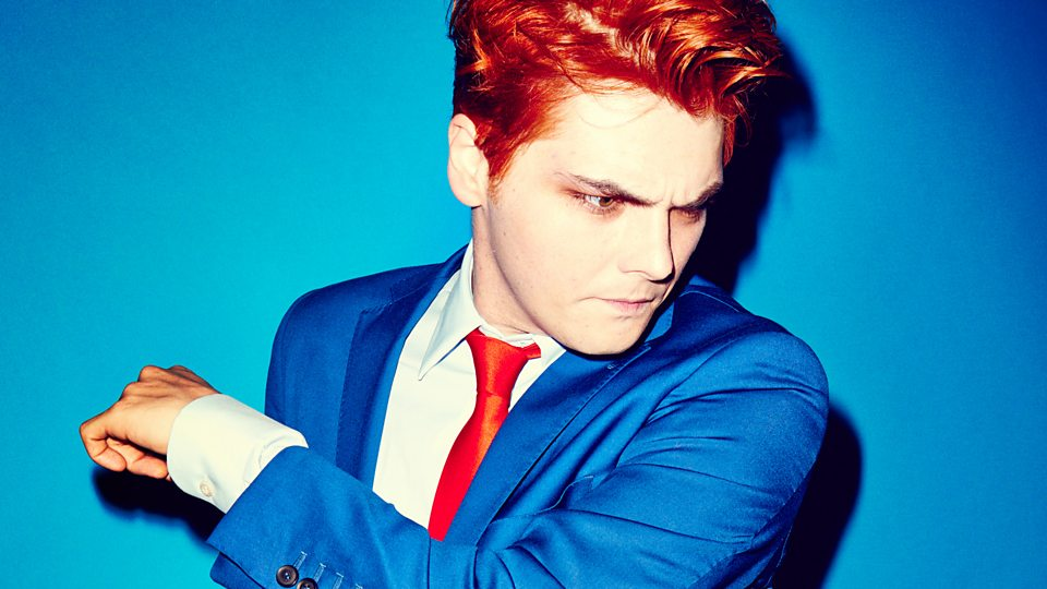 gerard way new songs playlists latest news bbc music