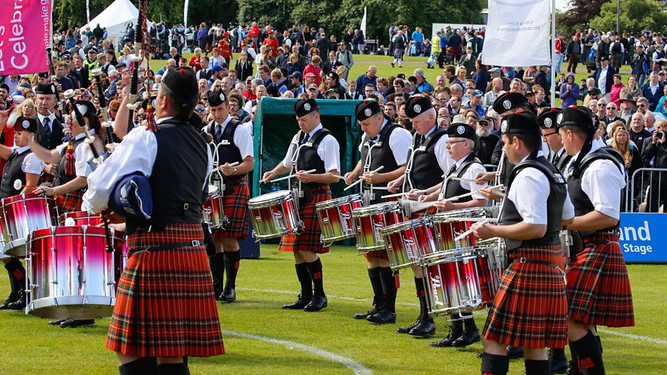 Greater Glasgow Police Scotland Pipe Band