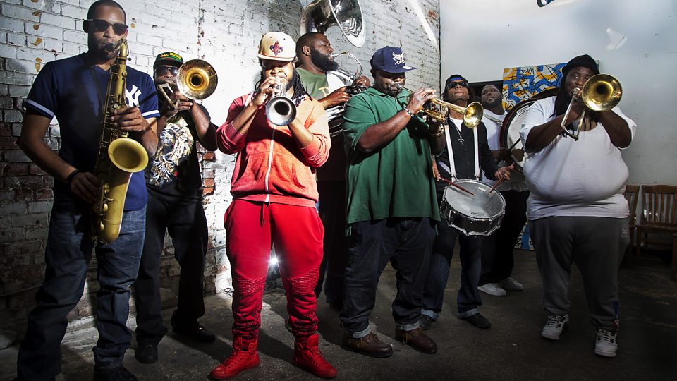 Hot 8 brass band sexual healing mp3