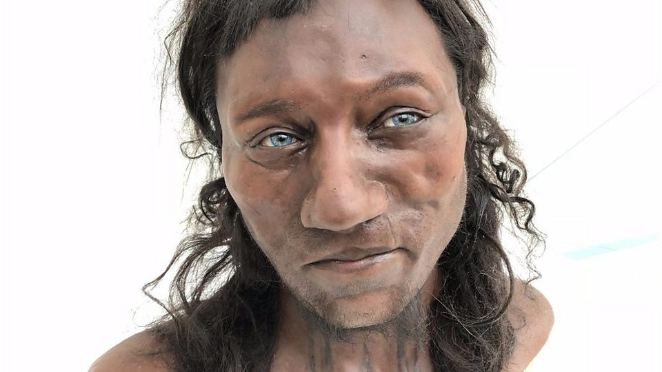DNA shows early Brit had dark skin