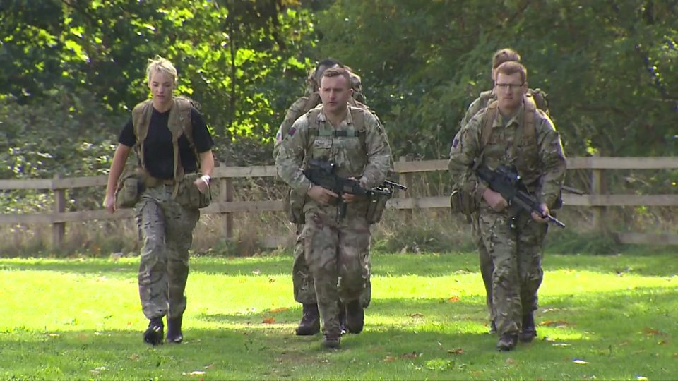 Are you fit enough to be in the army?