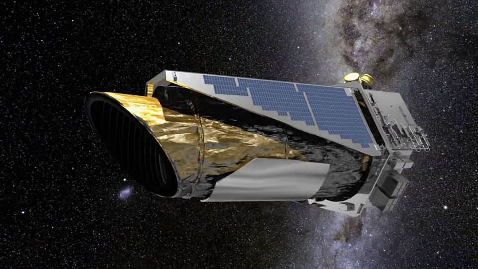 """Телескоп """"Кеплер"""" вышел на пенсию. Что он успел сделать? - BBC ..."""