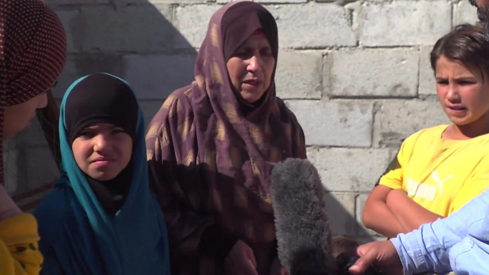 Latifa travelled from her home in Morocco after her son died fighting for the Islamic State group