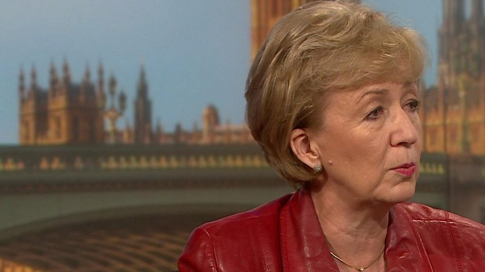 "Leadsom on Tusk: ""The man has no manners"""