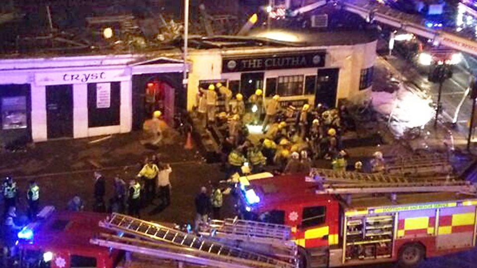 Clutha disaster: how the events unfolded
