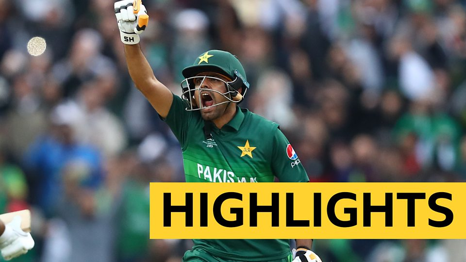 Cricket World Cup: Pakistan beat New Zealand to keep semi