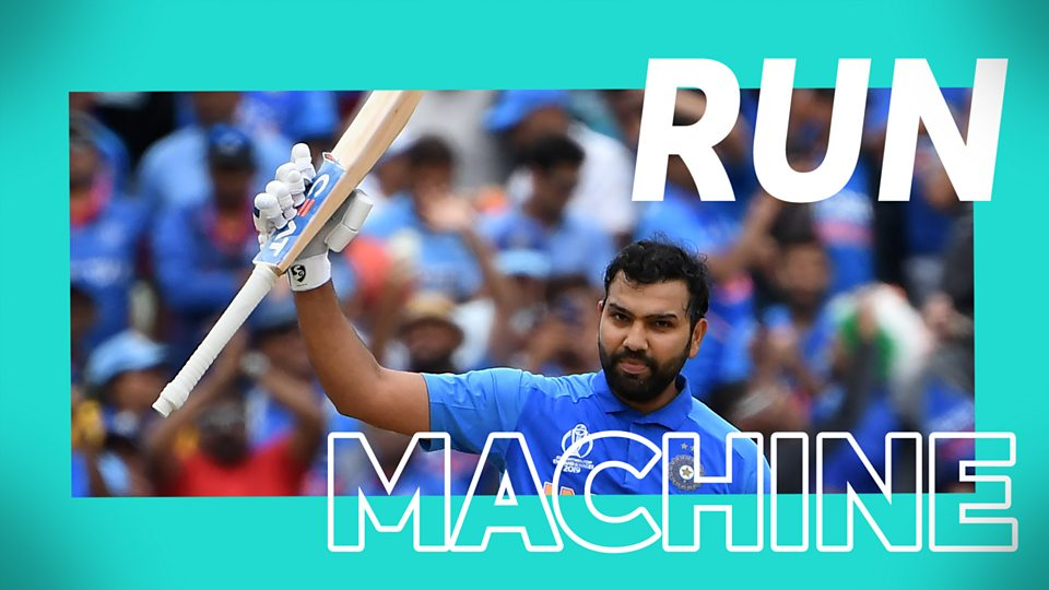 Rohit survives an early scare to rack up a match-winning 104 for India
