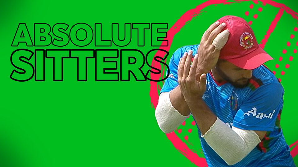 Watch six shocking fielding errors during Windies v Afghanistan