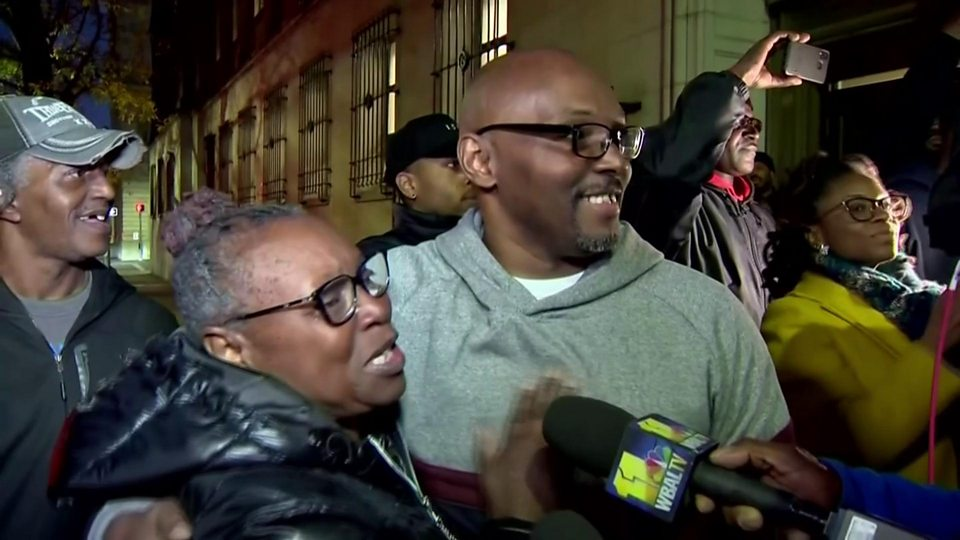 Image result for images of Three men wrongly jailed for life, set free after 36 years in prison (photos)