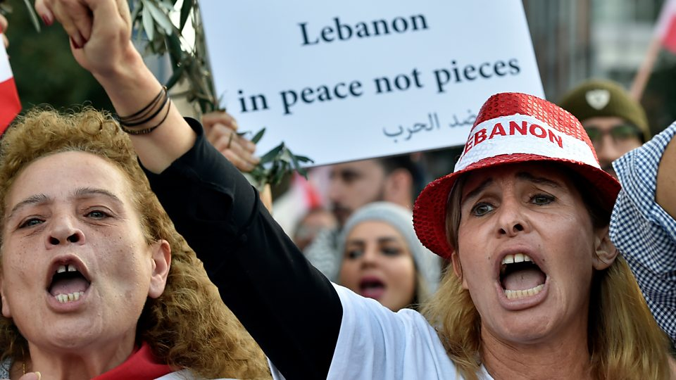 The BBC's Jeremy Bowen asks why people have been taking to the streets in Lebanon, Iran and Iraq
