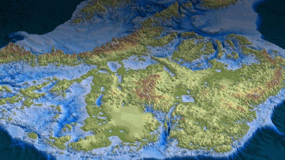 Nejhlubší místo na zemi je na Antarktidě, dosahuje 3,5 kilometru pod mořskou hladinu