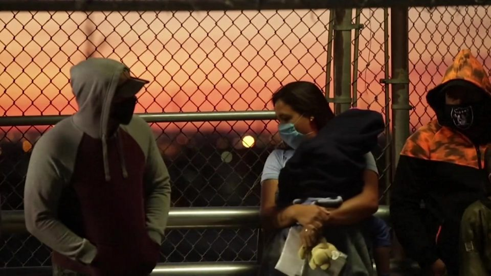 Life for asylum seekers in lockdown on the US-Mexico border