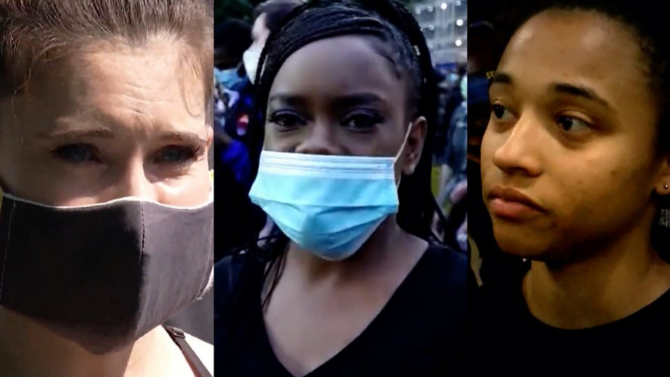 'I'm tired of being afraid': Why Americans are protesting