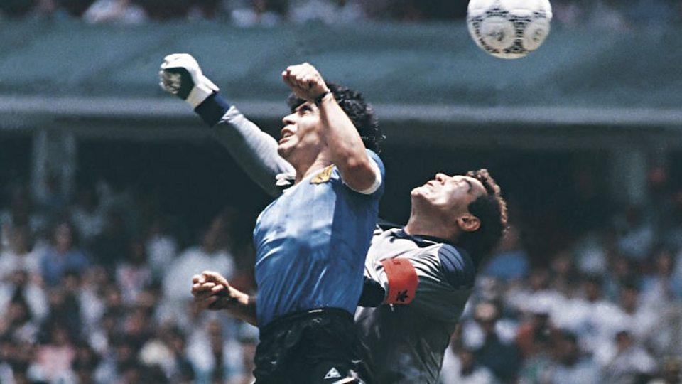 Diego Maradona: Argentina legend Maradona explains his infamous 'Hand of God' goal