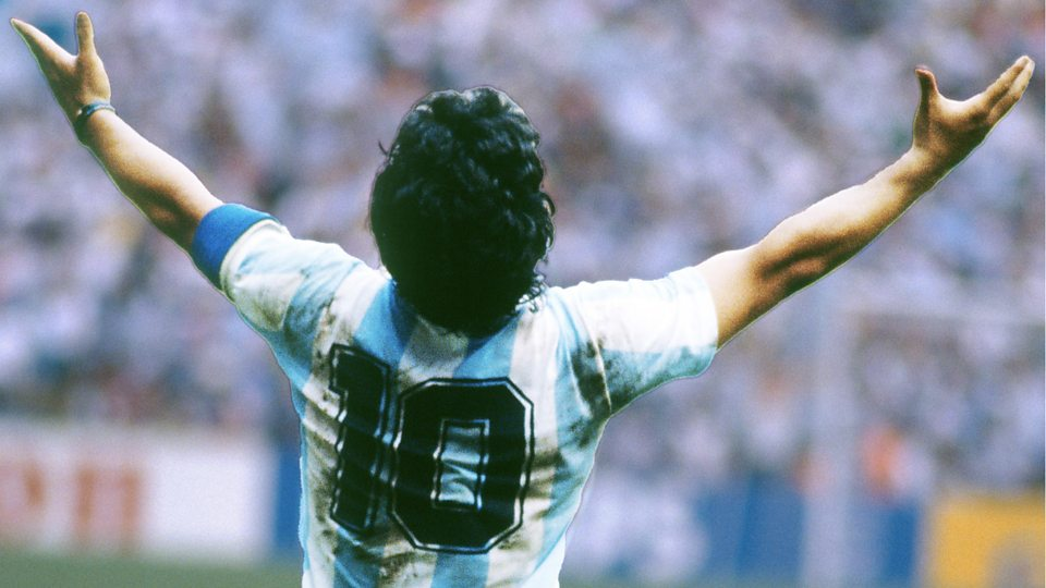 Watch all of Maradona's World Cup goals