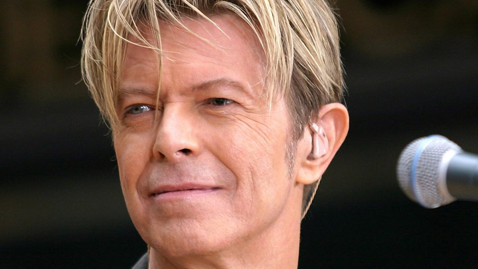 BBC presenters pay tribute to David Bowie