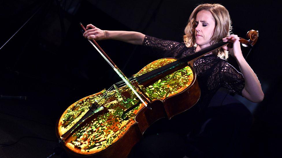[WATCH] See the cello in a new light as Sol Gabetta performs Elgar's Cello Concerto