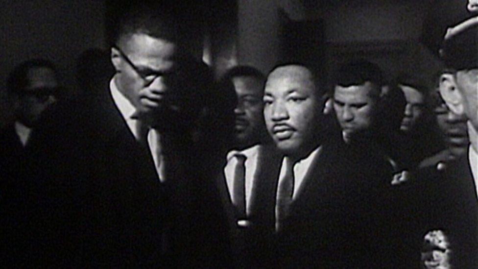 BBC ALBA - Aghaidh ri Aghaidh, Martin Luther King v Malcolm X, Sùil air sgeulachd Martin Luther King agus Malcolm X
