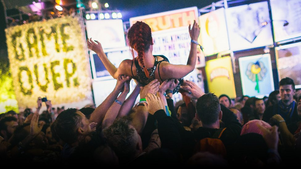 Hardcore at Glastonbury 2017: the chaos and passion in pictures