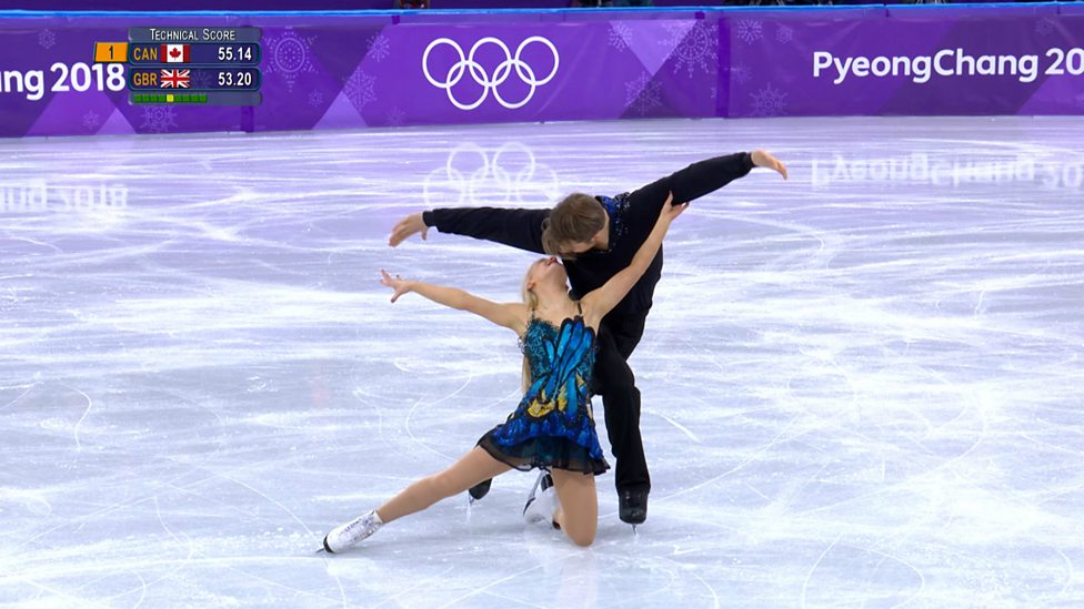 [WATCH] Britsh skaters Penny Coomes and Nick Buckland perform to Muse