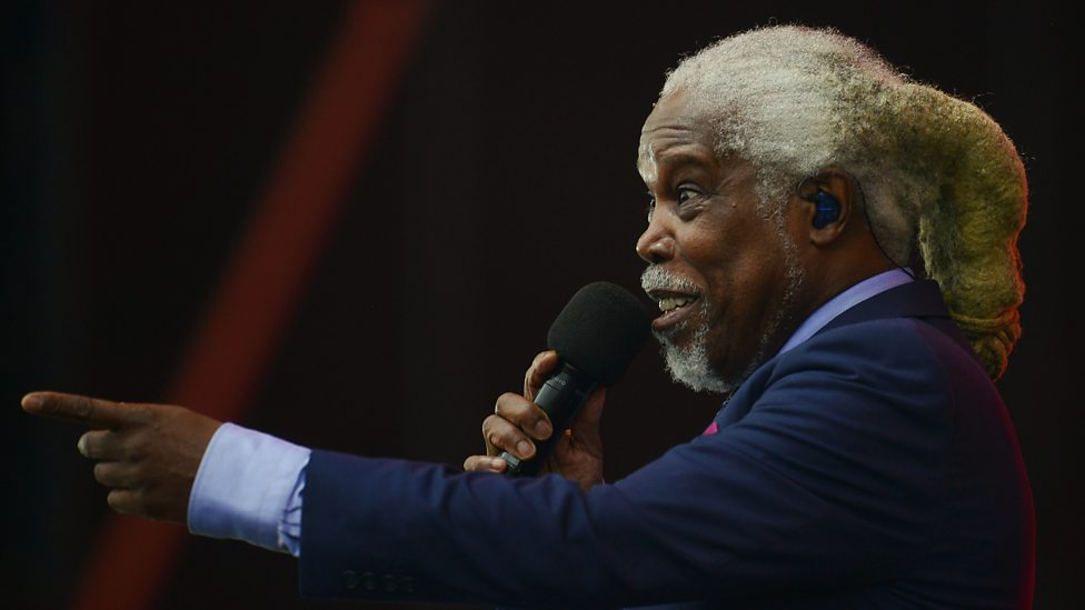 [WATCH] Billy Ocean performing When the Going Gets Tough.