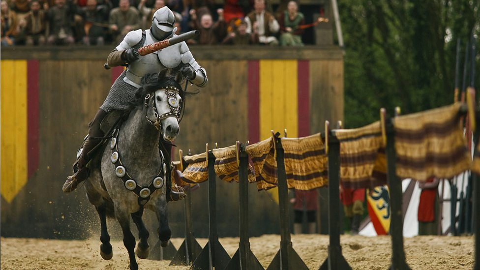 bbc one jousting merlin series 2 the once and future queen